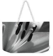 Lily - American Cheerleader 03 - Bw - Water Paper Weekender Tote Bag