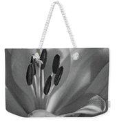 Lily - American Cheerleader 07 - Bw - Water Paper Weekender Tote Bag