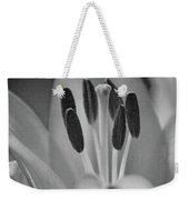 Lily - American Cheerleader 11 - Bw - Water Paper Weekender Tote Bag