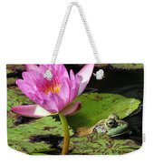Lily And The Bullfrog Weekender Tote Bag
