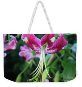 Lily At The Church Weekender Tote Bag