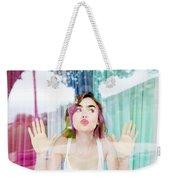 Lily Collins Weekender Tote Bag