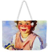 Lily Cow And The Queen 1915 Weekender Tote Bag