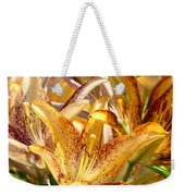 Lily Flower Garden Art Prints Canvas Floral Lilies Baslee Troutman Weekender Tote Bag