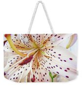Lily Flower White Lilies Art Prints Baslee Troutman Weekender Tote Bag