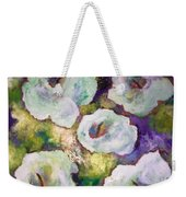 Lily Garden With Shadows And Light Weekender Tote Bag