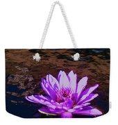 Lily In Pond Weekender Tote Bag