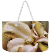 Lily In The Garden Neutral Weekender Tote Bag