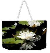 Lily Of The Lake Watercolor Weekender Tote Bag