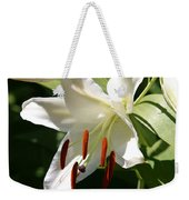 Lily Of White Weekender Tote Bag