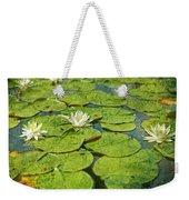 Lily Pad Flowers Weekender Tote Bag
