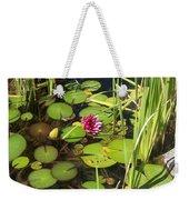 Lily Pad Pond In High Noon Sun Weekender Tote Bag