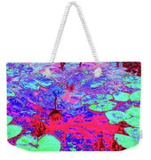 Lily Pads And Koi 15 Weekender Tote Bag