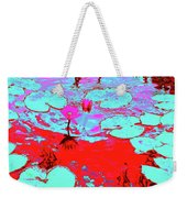 Lily Pads And Koi 7 Weekender Tote Bag
