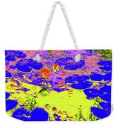 Lily Pads And Koi 9 Weekender Tote Bag