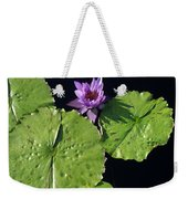 Lily Pads From Above Weekender Tote Bag