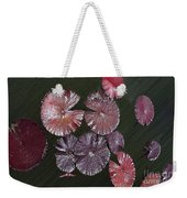 Lily Pads In The Pond Weekender Tote Bag