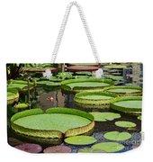 The Lily Pond Weekender Tote Bag