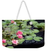 Lily Pond Monet Weekender Tote Bag