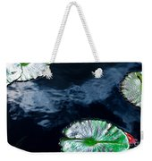 Lilypads And Sky Reflections Weekender Tote Bag
