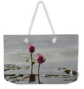 Lilypads And Wasps Weekender Tote Bag