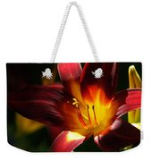 Lily's First Light Weekender Tote Bag