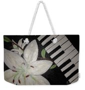 Lily's Piano Weekender Tote Bag