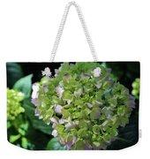 Lime-green Hydrangea Weekender Tote Bag