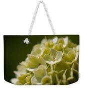 Lime Hydrangea Weekender Tote Bag