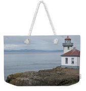 Lime Kiln Lighthouse Panorama Weekender Tote Bag
