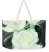 Lime Sublime Weekender Tote Bag