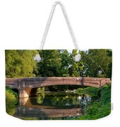 Lime Valley Bridge Weekender Tote Bag