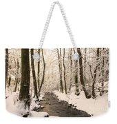 Limentra In Winter Weekender Tote Bag