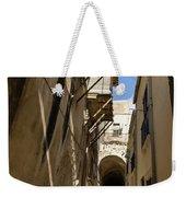 Limestone And Sharp Shadows - Old Town Noto Sicily Italy Weekender Tote Bag