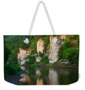 Limestone Bluffs Along Upper Iowa Weekender Tote Bag