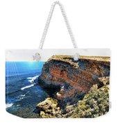 Limestone Cliff Weekender Tote Bag