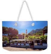 Limone Sul Garda Square And Church View Weekender Tote Bag
