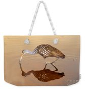 Limpkin In The Mirror Weekender Tote Bag