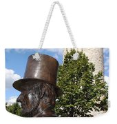Lincoln At The Tower Weekender Tote Bag