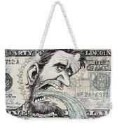 Lincoln Barfs Weekender Tote Bag