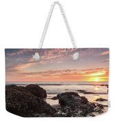 Lincoln City Beach Sunset - Oregon Coast Weekender Tote Bag