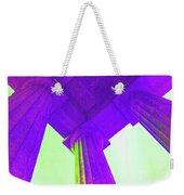 Lincoln Column Purple Weekender Tote Bag