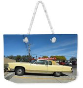 Lincoln Continental At Brint's Diner Weekender Tote Bag