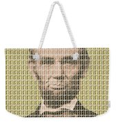Lincoln - Gold Weekender Tote Bag