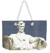 Lincoln Memorial - Dark Blue Weekender Tote Bag