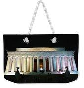Lincoln Memorial - From Reflecting Pool Weekender Tote Bag