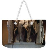Lincoln Memorial: Statue Weekender Tote Bag
