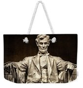 Lincoln Monument Weekender Tote Bag