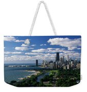 Lincoln Park And Diversey Harbor Weekender Tote Bag