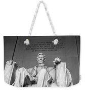 Lincoln Statue Weekender Tote Bag